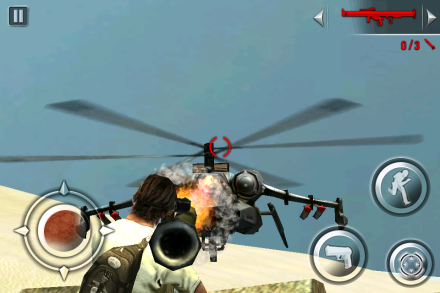 Hello helicopter. Meet rocket launcher.