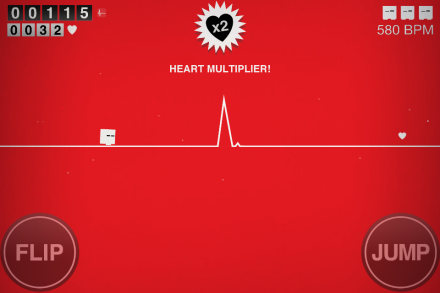 Game gets boring so fast you flatline. Get it?