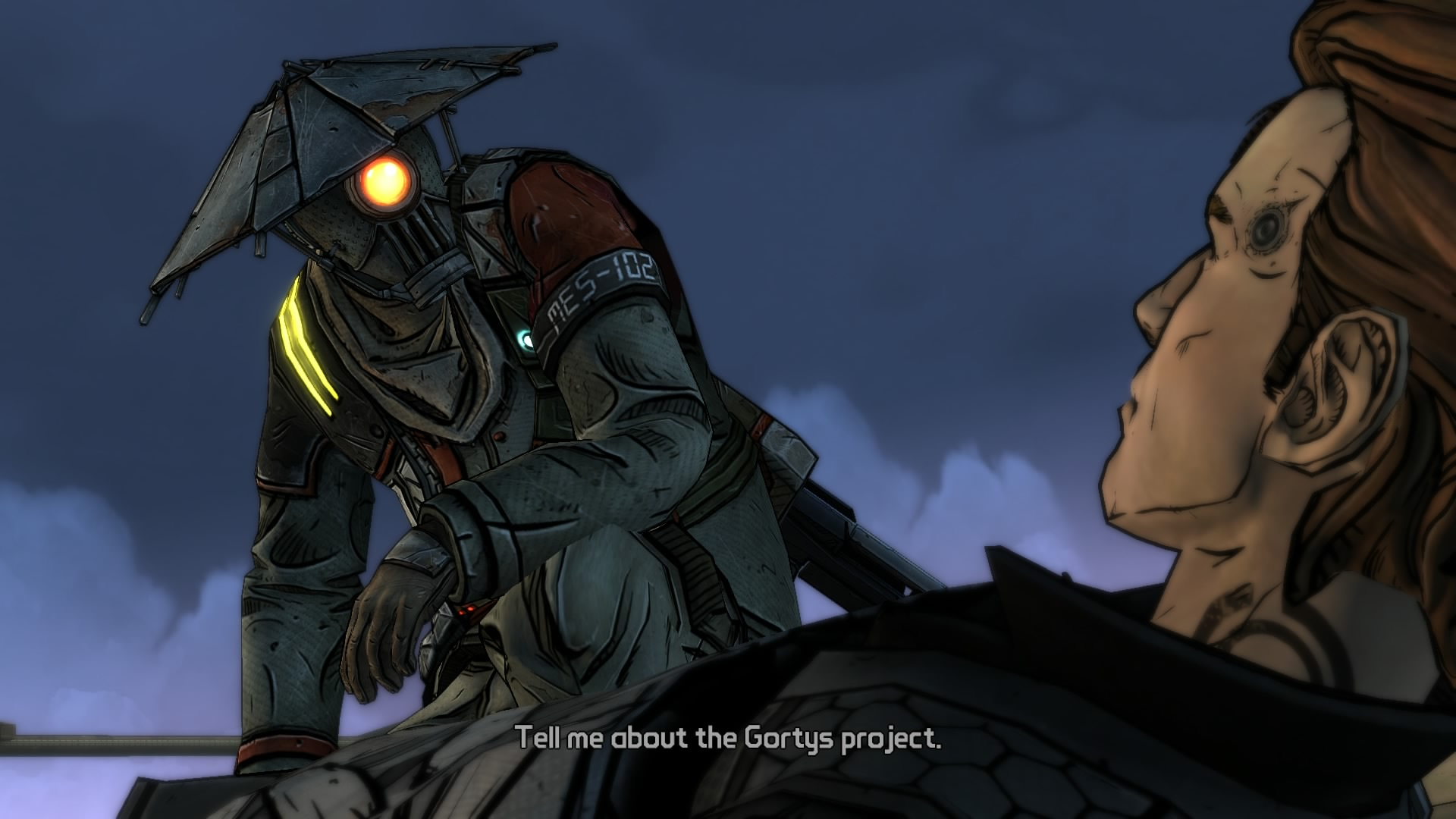 Tales From the Borderlands – Episode 1: Zer0 Sum Review ... Borderlands Characters Brick