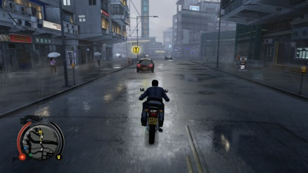 Only BAMFs ride motorcycles in the rain